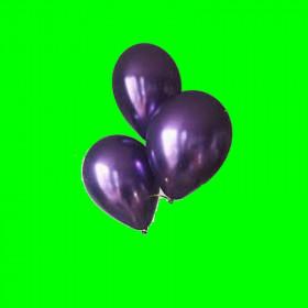 Balony chrom fiolet - op. 3 szt
