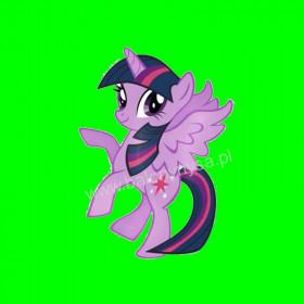 Balon włoski My Little Pony Fioletowy 14cali
