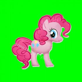 Balon włoski My Little Pony Różowy 14 cali