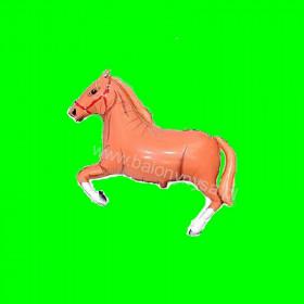 Balon włoski Koń brązowy - 30 cm