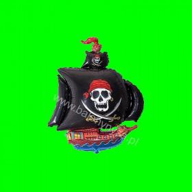 Balon włoski Statek piracki - 14 cali