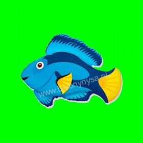 Balon włoski Niebieska Rybka - 14 cali