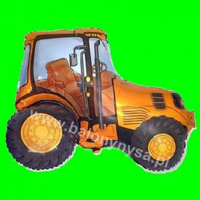 Balon włoski Traktor żółty 80 cm