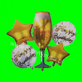 Balon zestaw Cheers 97x50 cm