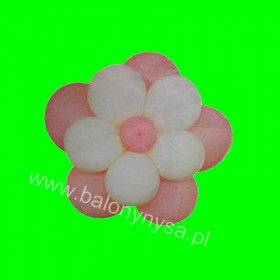 Zestaw balonów kwiatek , 1 op - 11 szt , 25 cm