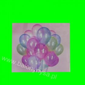 Balony crystallic mix kolorów,1 op-12szt , 30 cm