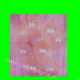 Balony crystallic  pomarańcz, 1 op-12 szt , 30 cm