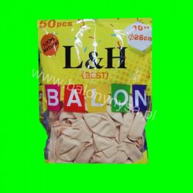 Balony macarony cieliste, 1op - 50 szt , 26cm