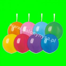 Balony piłka z gumką ,60 cm