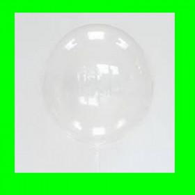 Balon  przezroczysty perłowy