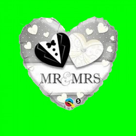Balon ślubny MR-MRS