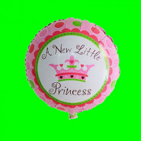 Balon -A NEW LITTLE PRINCESS-45 CM