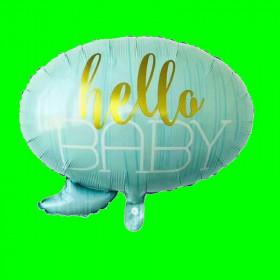 Balon hello baby 60 cm
