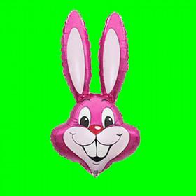 Balon włoski -królik-różowy-30 cm