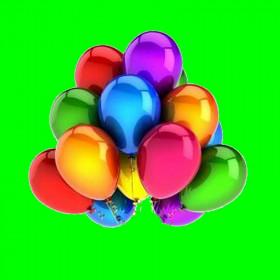 Balon metalizowany 12'