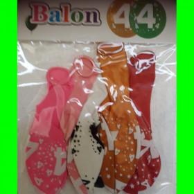 Balon-cyfra-4-