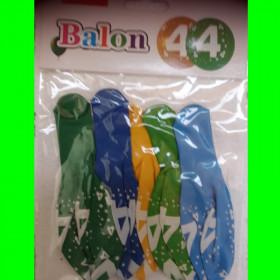 Balon cyfra-4-CH-5szt