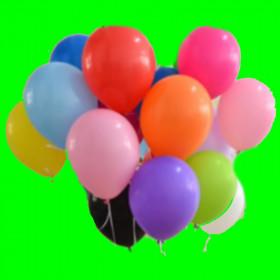 """Balon-mix kolorów-12""""-1szt"""