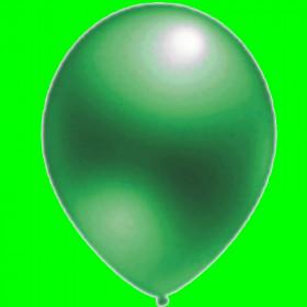 """Balon perłowy  ciemno zielony 12""""-1 szt"""