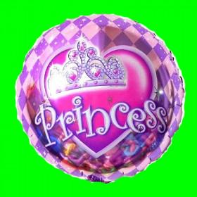 Balon princess różowy-45 cm