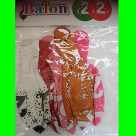 Balon cyfra-2-dzw--30 cm