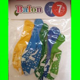 Balony cyfra-7-chł-30 cm