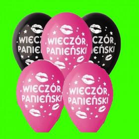 Balon wieczór Panieński - op 5 szt.