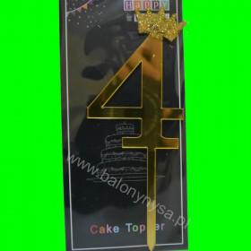 Topper na tort - 4 złote