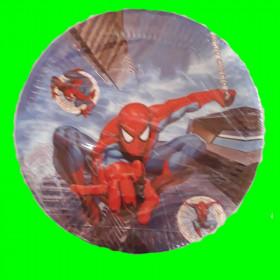 Talerzyki Spiderman - 23 cm
