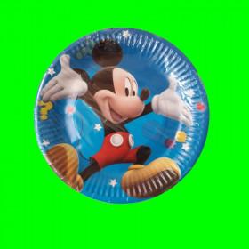 Talerzyki z Myszką Miki