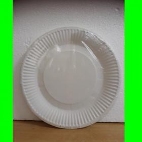 Talerzyki białe