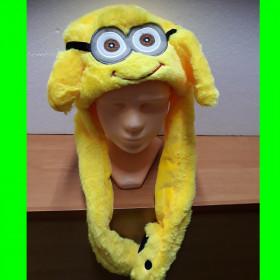 Czapka Minionek - ruchome uszy