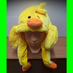 Czapka kaczka żółta - ruchome uszy