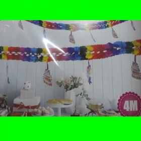 Girlanda-kolorowe gwiazdy