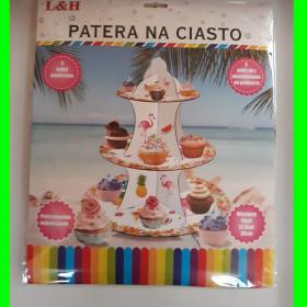 Patera na ciasto - Flamingi