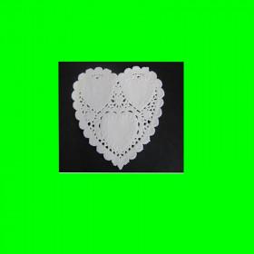 Serwetka papierowa -serce