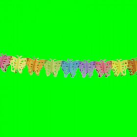 Girlanda  motylki kolorowe-3 m