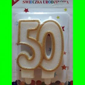 Świeczka złota - 50