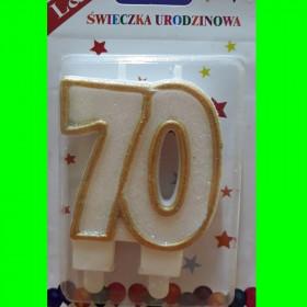 Świeczka złota - 70