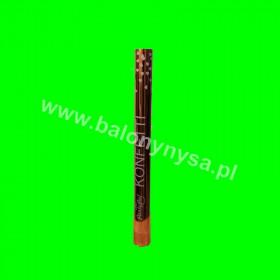 Tuba konfetti-60 cm-serduszka różowe złoto