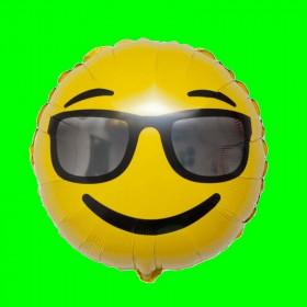 Balon Emotikon - Okulary