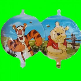 Balon Tygrysek i Kubuś - dwustronny
