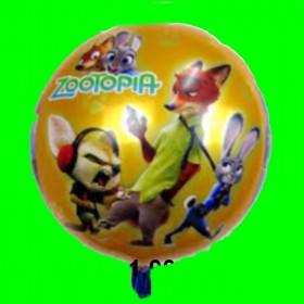Balon Zootopia  45 cm
