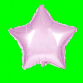 Balon gwiazda  róż 25 cm 3 szt