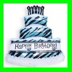 Balon tort na powietrze - 47x27 cm