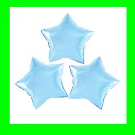 Gwiazda na patyk niebieska 26 cm