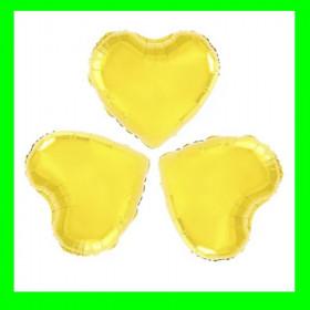 Serce  złote 26 cm