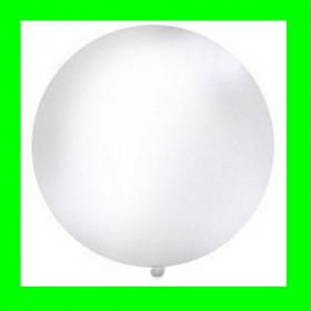 Balon biały -GIGANT-1m