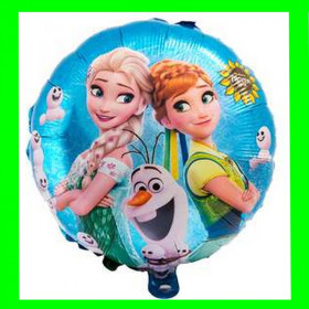 Balon Anna i Elza -  bałwanek