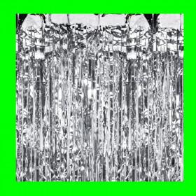 Kurtyna srebrna-2 m